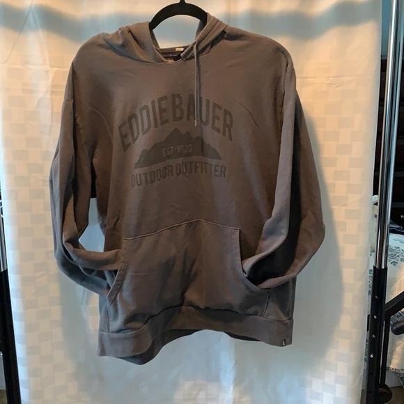 XL Eddie bauer grey hoodie